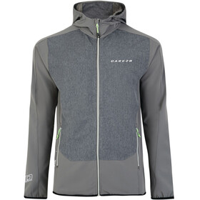 Dare 2b Appertain Softshell Jacket Men Smokey Grey/Charcoal Grey Marl